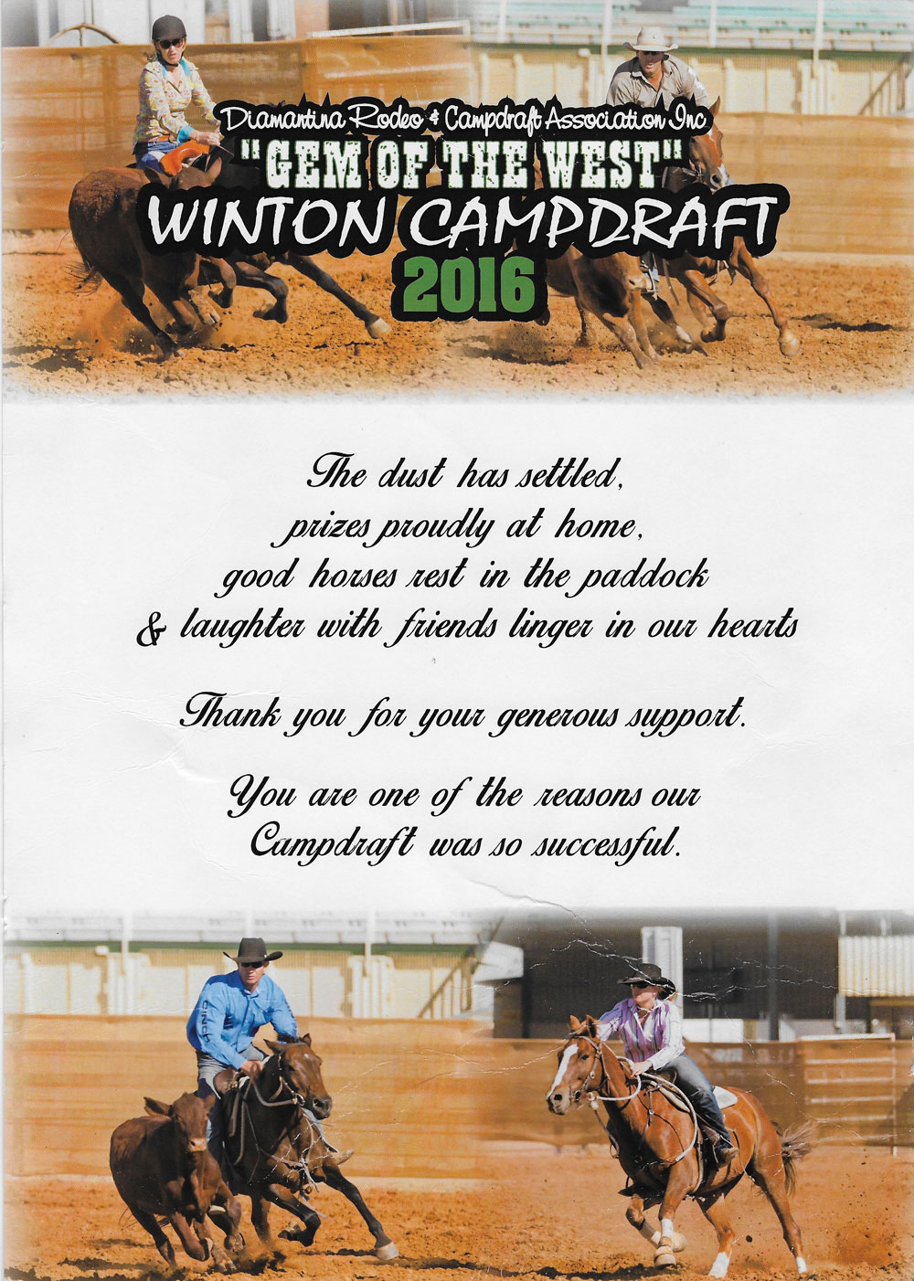 Winton Campdraft