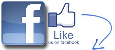 Lke us on Facebook