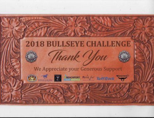 2018 Bullseye Challenge Appreciation