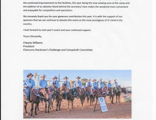 Cloncurry Stockmans Challenge 2018