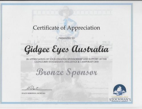 Cloncurry Stockmans Challenge & Campdraft Certificate of Appreciation