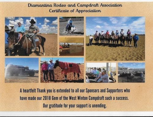 Diamantina Rodeo Campdraft 2018