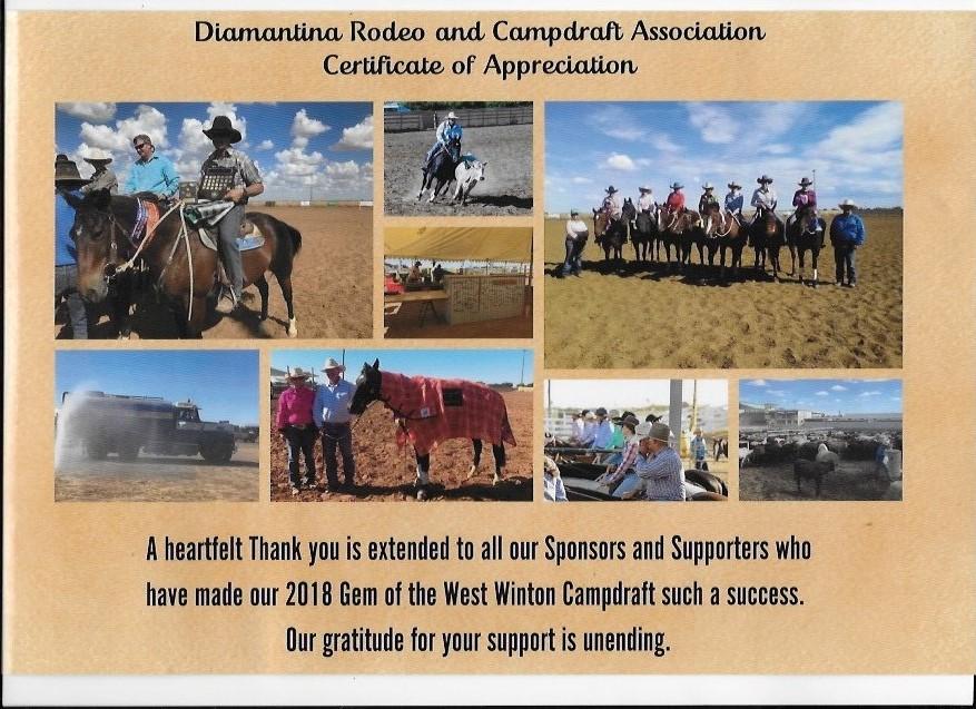 Diamantina Rodeo Campdraft 2018